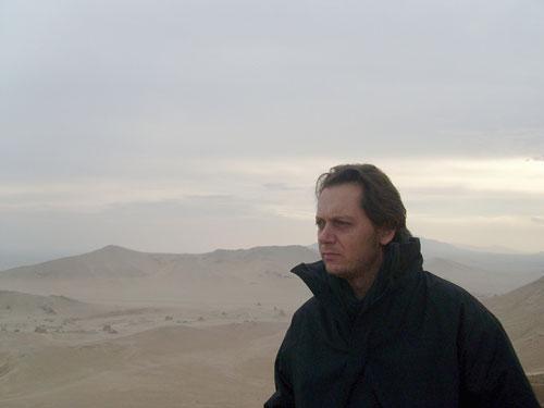 Dans le désert de Palmyre