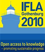 Affiche officielle du 76<sup>e</sup> Congrès annuel de l'IFLA à Göteborg