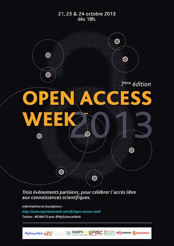 OA Week 2013 Paris