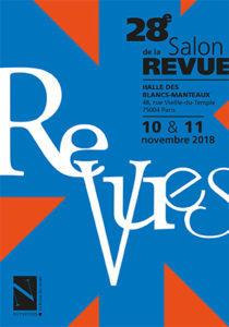 28e Salon de la revue, 9-11 novembre 2018, Paris